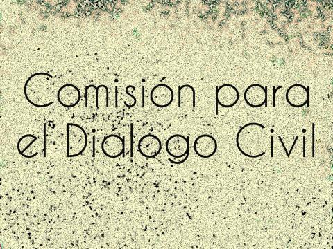 Imagen con título Comisión para el Diálogo Civil