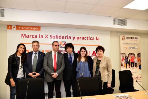 foto de la presentación de la campaña x solidaria