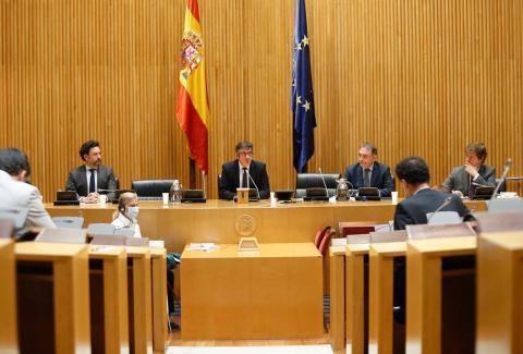 foto de la Comisión Parlamentaria para la Reconstrucción Social y Económica
