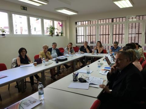 Foto de la reunión sobre los principales resultados sobre España del estudio 'El Impacto del Tercer Sector'