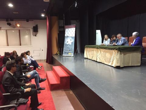 Foto durante el encuentro en Ceuta