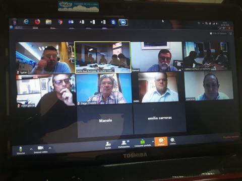 Foto durante la reunión