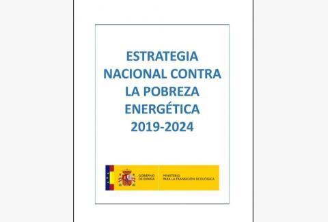 Portada de la Estrategia Nacional contra la Pobreza Energética