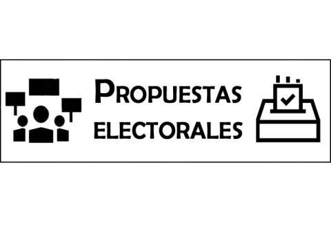 creatividad sobre propuestas electorales