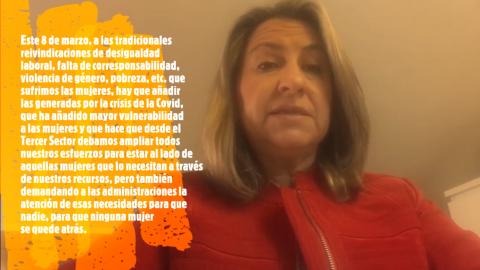 Captura del vídeo de Yolanda Besteiro