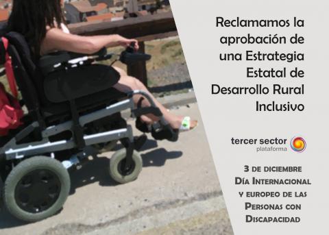 creatividad por el día de las personas con discapacidad
