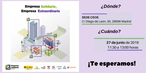 imagen sobre el acto 'empresa solidaria, empresa solidaria'