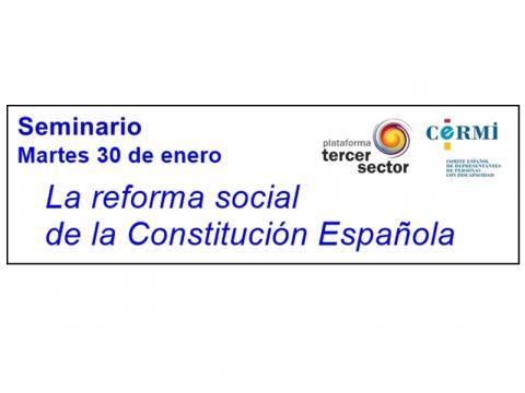 seminario reforma social constitución