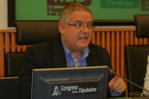 D. Carlos Susías en un momento de su intervención.
