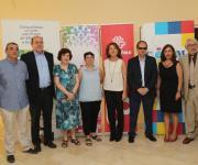 Foto Firma Constitución de la MTSCLM con la Consejera de Bienestar Social
