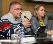Sesión sobre la Ley del Tercer Sector de Acción Social. Carlos Susías y Yolanda Besteiro.