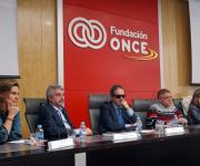 Sesión sobre la Ley del Tercer Sector de Acción Social. Elena Rodríguez, Miguel Cabra de Luna, Rafael de Lorenzo, Carlos Susías y Yolanda Besteiro.