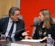 Sesión sobre la Ley del Voluntariado. Pablo Benlloch y Patricia Sanz.