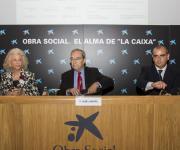 Organizadores de la Jornada: Adela Subirana (Presidenta de Fundación Grup Set); Jaume Lanaspa (Director Obra Social La Caixa) y Luciano Poyato (Presidente Plataforma Tercer Sector).