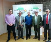 Junta Directiva de la Plataforma del Tercer Sector de Extremadura.