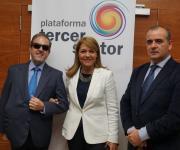 Rafael de Lorenzo, Susana Camarero y Luciano Poyato.