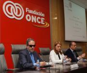 Sesión de apertura. Rafael de Lorenzo, Susana Camarero y Luciano Poyato.