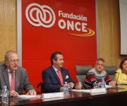 Sesión de clausura. Juan Lara Crevillén, Ignacio Tremiño, Carlos Susías y Salomé Adroher.