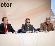 Rafael de Lorenzo presentando las ponencias técnicas y a los ponentes.