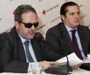 Rafael de Lorenzo García, Secretario General de la Plataforma del Tercer Sector y Miguel Loya del Río, Socio de Garrigues